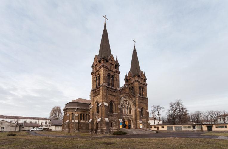 Уникальный костел Святого Николая под Днепром