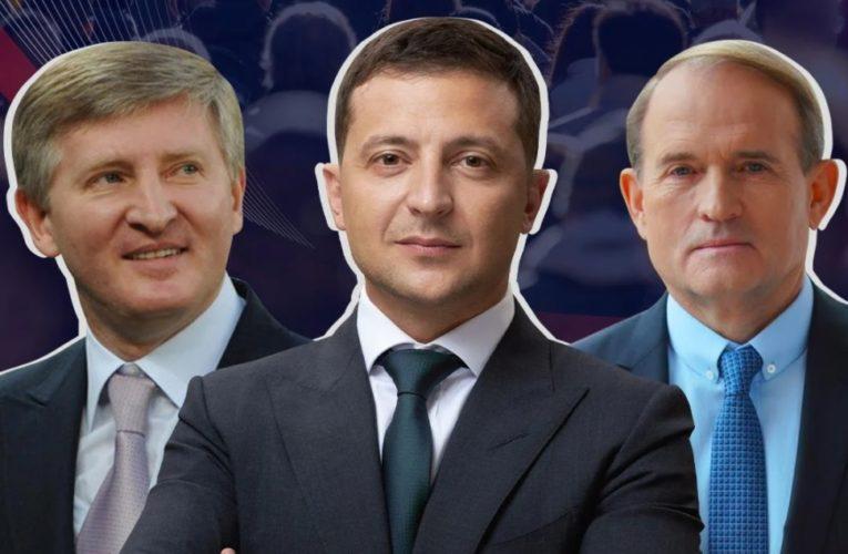 Зеленский, Ахметов и Медведчук: Самые влиятельные люди в стране по версии трех разных изданий