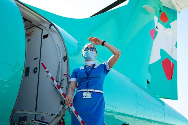 WINDROSE отмечает первую годовщину запуска программы внутренних авиаперевозок в Украине